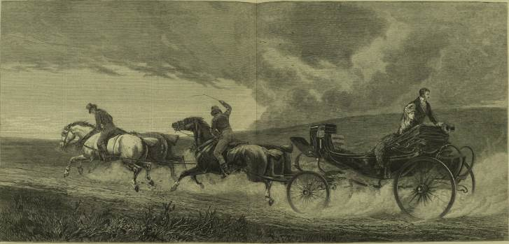 'The road to Gretna Green', London Illustrated News 1871