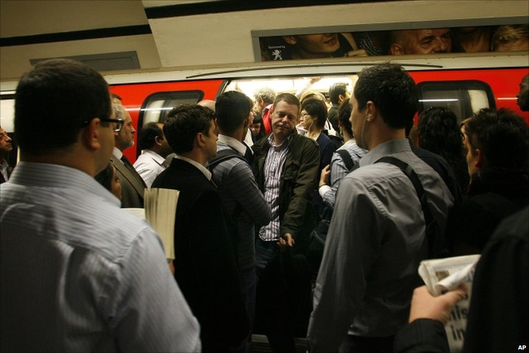 Congestion-on-the-london-underground